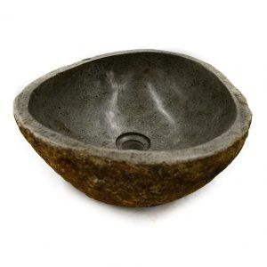Ovalin de Piedra de Río (Chico) 034OV-1-243