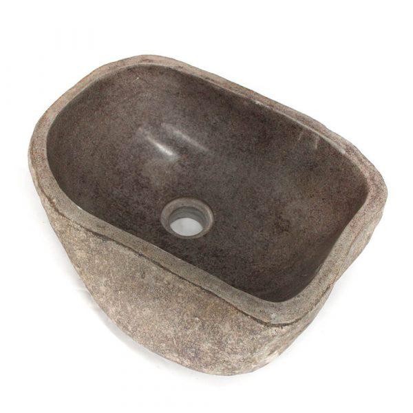 Ovalin de Piedra de Río (Mediano) 034OV-2-182