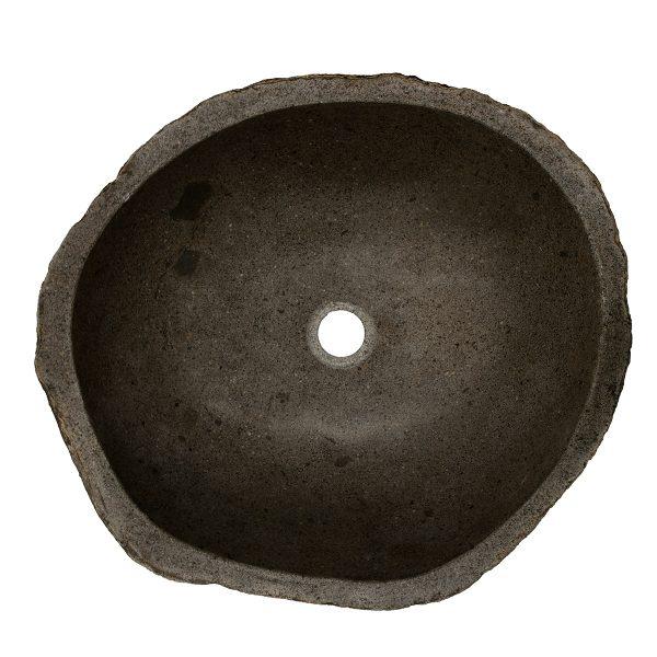 Ovalin de Piedra de Río (Grande) 034OV-3-249
