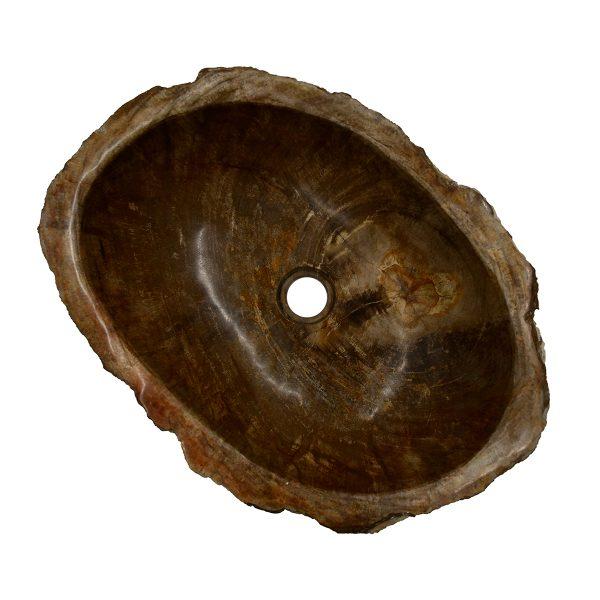 Ovalin de Madera Petrificada (Mediano) 046MP-3040-260