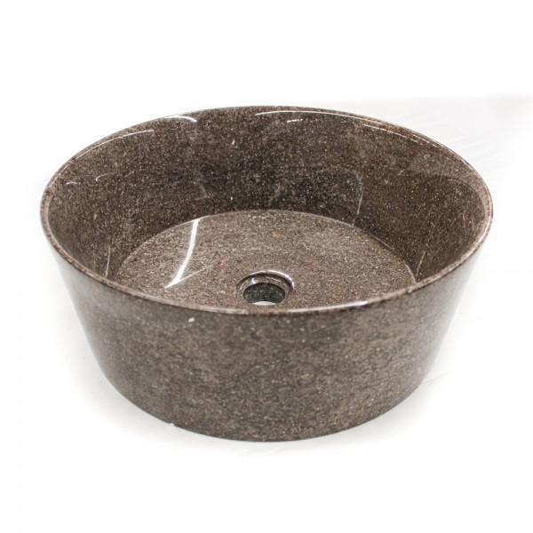 Ovalin de mármol gris pulido gratus (Mediano) 063MM-GT-4040