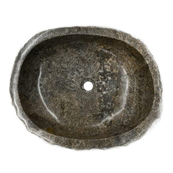 Ovalin de Mármol Jurásico Sinc Gris 074MM-JR-GR-4050-274