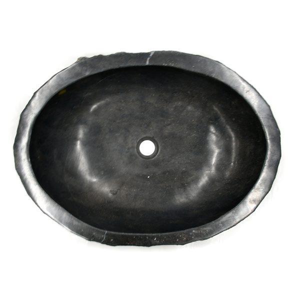 Ovalin de Mármol Jurásico Sinc Negro 075MM-JR-NG-4050-272