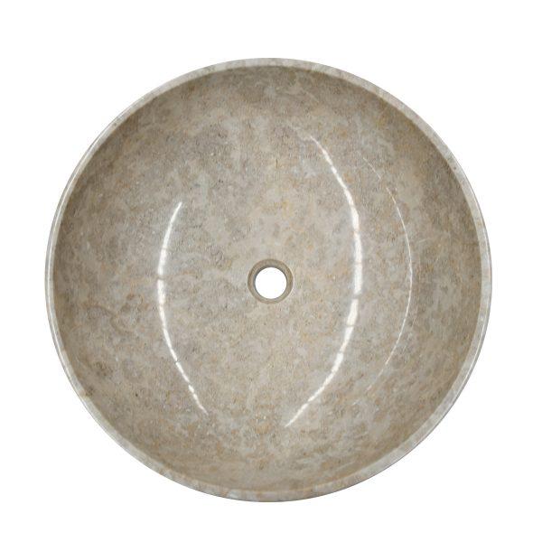 Ovalin de mármol crema eos m 079MM-EOS-CR-4545-278
